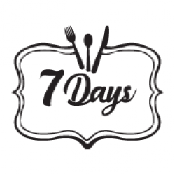 7 Days Restaurant & Pizzerie logo