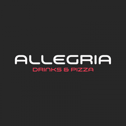 Allegria Drinks & Pizza logo