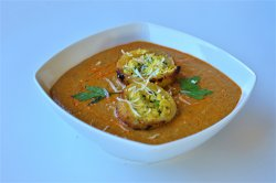 Curry vegetarian- Awadhi Dum Aloo Curry