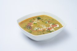 Curry vegetarian- Daal Palak