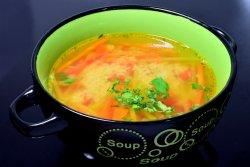 Ciorba de legume cu cous-cous