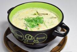 Supa cu lapte de cocos