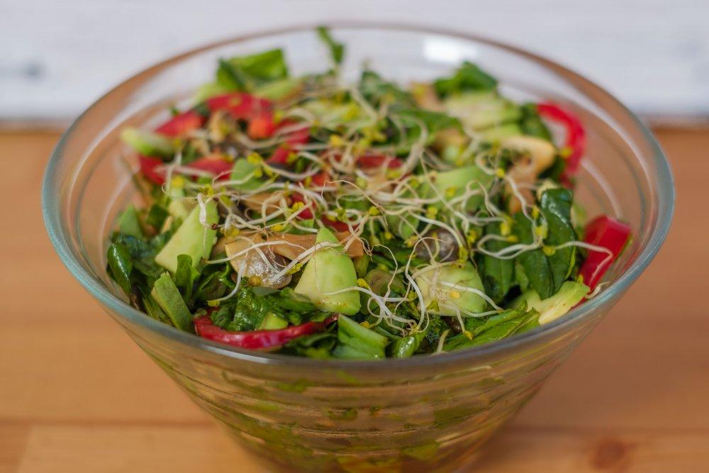Salată verde de sezon