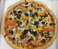 Pizza Vegetariana 1+1