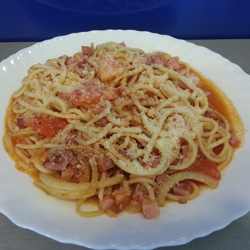 Spaghetti all`Amatriciana