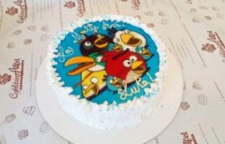 "Tort ""Angry Birds"""