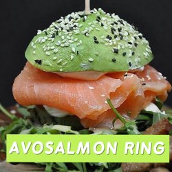 Avosalmon ring