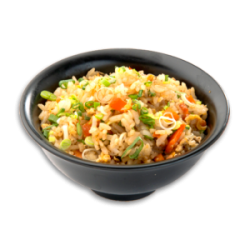 Vegetable fried rice small