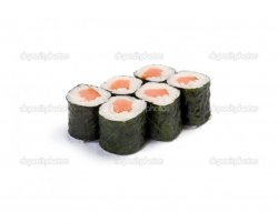 Salmon maki 6 pieces