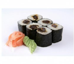 Shiitake maki 6 pieces