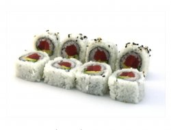 Tuna avocado maki 8 pieces