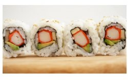 Sesame Philadeplhia maki 8 pieces