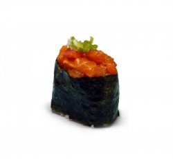Gunkan spicy salmon 1 piece