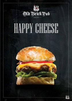 Happy Cheese Burger