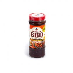 Cj korean bbq hot & spicy (chicken & pork marinade)