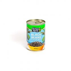 Dr black beans in salted water