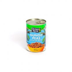 Dr gungo peas in salted water