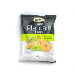 Grace lime plantain chips
