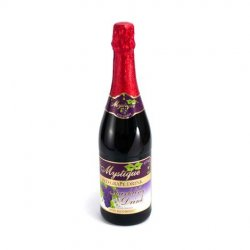 Mystique sparkling drink (red grape)