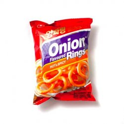 Nongshim onion rings (hot & spicy)