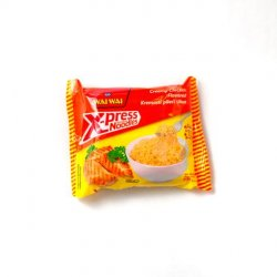 Wai wai x-press instant noodles creamy chicken flavour